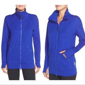 Zella Cobalt Blue Mantra Zip Up Jacket